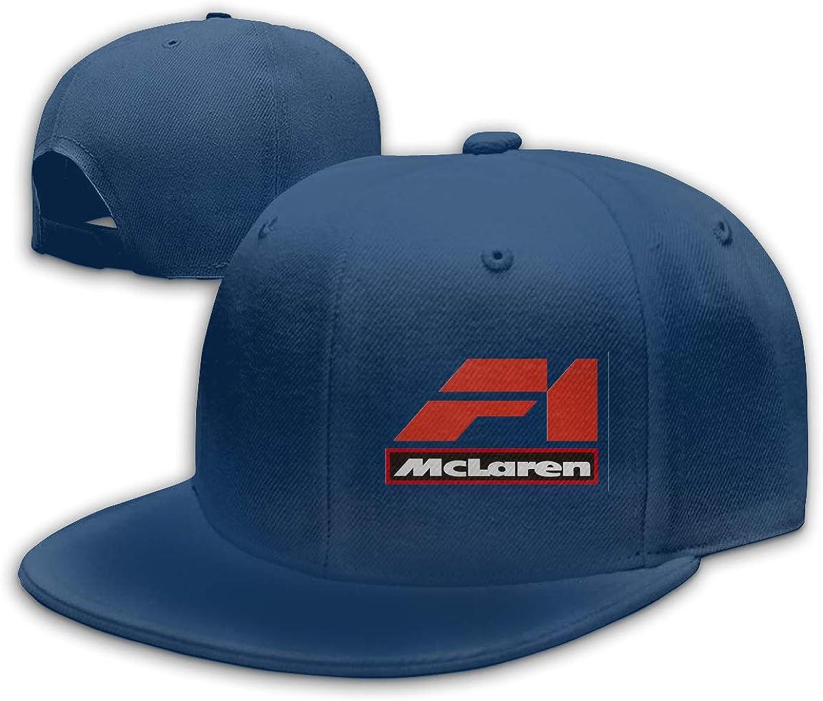 ZaHome Mens Mclaren_f1 Cotton Baseball Snapback Hats Adjustable Structured Fit Hat