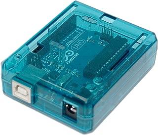sb components SB Uno R3 Case Enclosure New Transparent (Blue) Computer Box Compatible with Arduino UNO R3