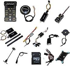 Xiangtat Pixhawk PX4 PIX 2.4.8 32bit Flight Controller NEO-M8N GPS Radio 100mw 500mw Telemetry OSD 3DR 433Mhz 915Mhz for RC FPV Drone Frame (915Mhz 500mw)