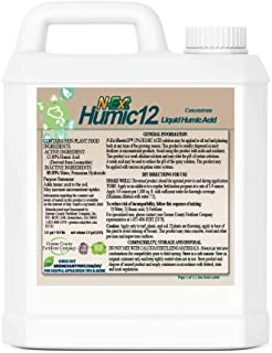 [N-Ext] Humic12-12% Humic Acid for Lawns Bio-Stimulant Liquid Fertilizer for Increased Root Growth, Chlorophyl Content, Nu...