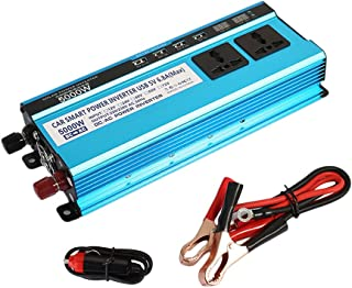 ZZH Car Power Inverter,4000W Dc 12V To Ac 110V//220V Modified Sine Wave Car Inverter/_12V to 110V