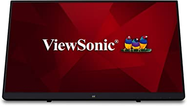 ViewSonic TD2230 22 Inch 1080p 10-Point Multi Touch Screen IPS Monitor with HDMI and DisplayPort, Black