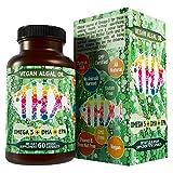 Vegan Omega 3 Algae Oil with DHA EPA The Fish-Less Oil Blend