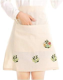 Love Potato Tablier de Table pour Femme Fille Motif Flamant Rose