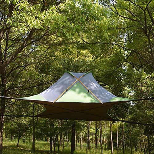 220 * 200 cm colgante árbol tienda colgante casa árbol camping hamaca impermeable 4 estaciones tienda para senderismo mochilero