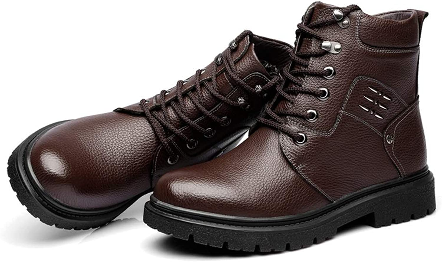 Men's Ankle Boots Leisure Classic Comfort High Top Outdoor Rubber Outsole Martin Boots