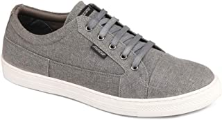 FURO by Red Chief Men's Grey Canvas Sneaker Shoes SNM113 005