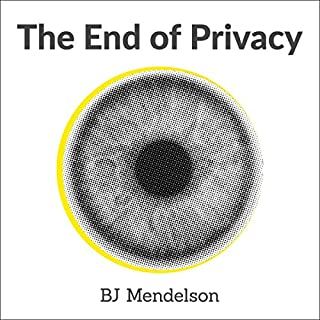 The end of Privacy audiobook cover art