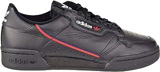 adidas Men's Continental 80 Originals Black/Scarlet/Collegiate Navy Casual Shoe 8.5 Men US