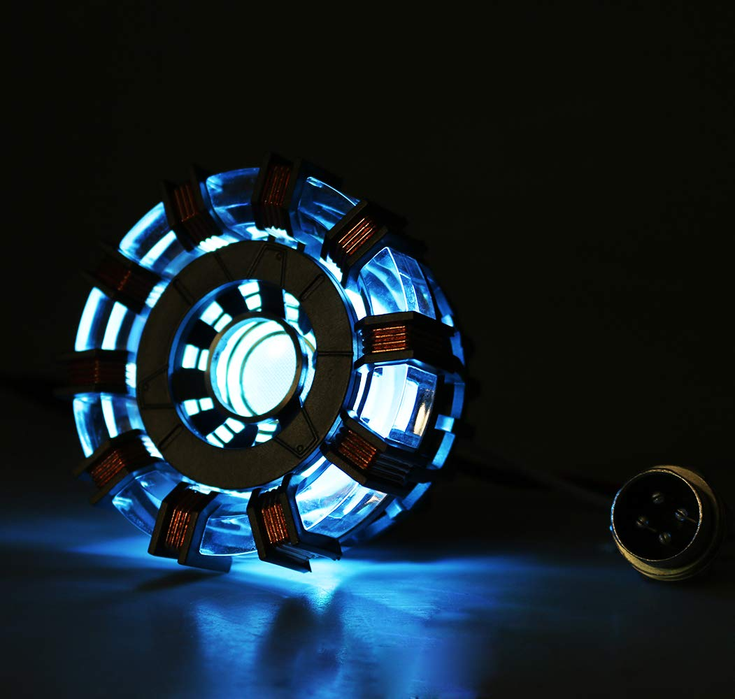 Gmasking Metal IM MK2 Led Arc Reactor Collectibles 1:1 Replica (No Assembly Required)