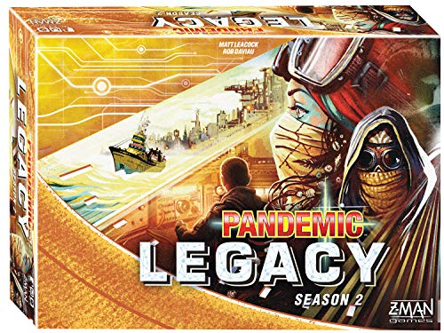 Pandemic Legacy Season 2 Yellow - Strategisch bordspel - Pandemic Legacy Seizoen 2 is een episch en coöperatief bordspel - Voor volwassenen - Taal: Engels