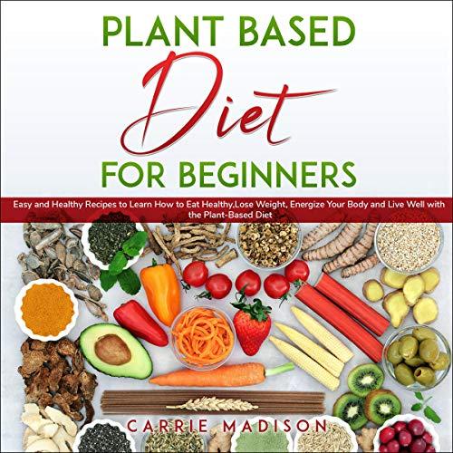 『Plant Based Diet for Beginners』のカバーアート