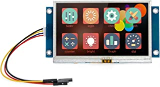 """Irfor 4.3"""" Serial Port Color LCD Module Enhanced HMI Intelligent Smart USART Serial Touch TFT LCD Module Display Panel Com..."""
