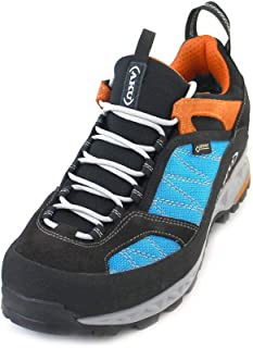 AKU Hiking Boots Trekking 976-454 Tengu Low GTX Black Turquiose Orange Black