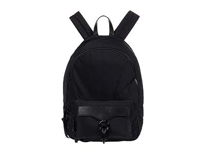 Rebecca Minkoff Mab Nylon Backpack (Black) Backpack Bags