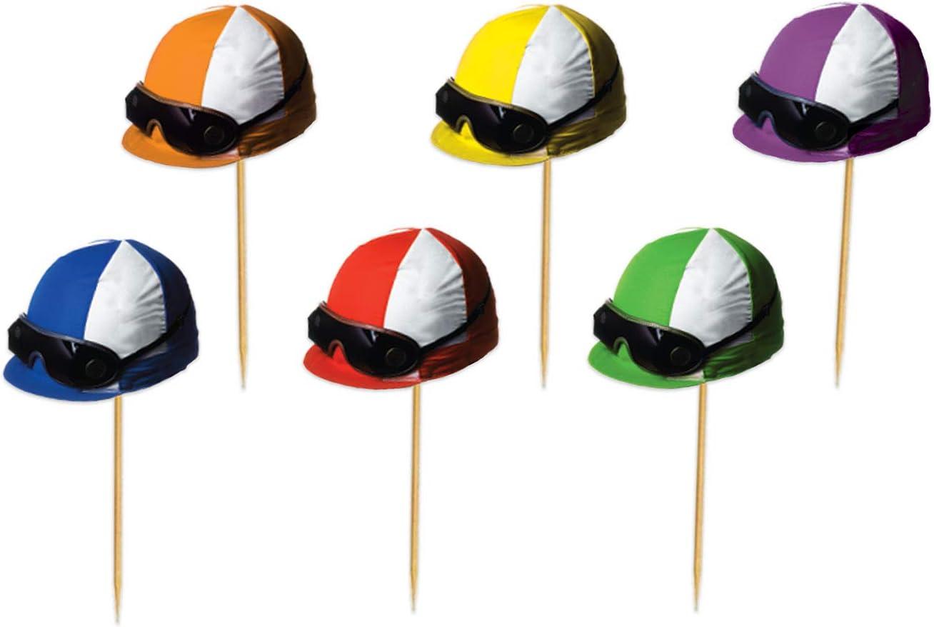 Beistle 60966 Jockey Helmet Food Party Ranking TOP14 Piece 150 Day Picks Denver Mall Derby