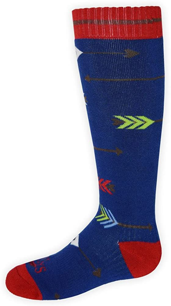 Hot Chillys HC2627P Youth's Hot Chillys Flying Arrows Mid Volume Ski Sock