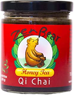 Zen Bear | Qi Chai | Herb Infused Raw Honey Tea with black tea, cinnamon sticks, cardamom, cloves and black pepper | enjoy...