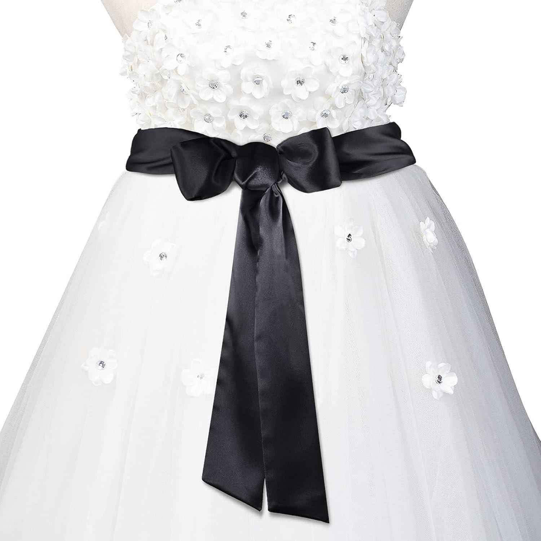 Wedding Ribbon Complete Free Shipping Belt Satin Trust Sash Dress Bridal Simple Cla