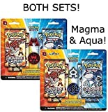 Pokemon Double Crisis Rival Ambitions: BOTH Team Aqua Vs Magma Booster Expansion Sets!