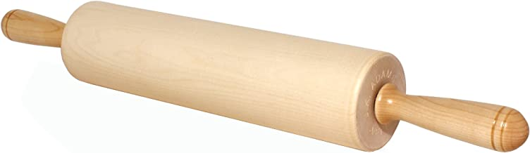 J.K. Adams Patisserie Maple Wood Rolling Pin, 12-inches by 2-3/4-inches