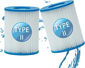 LXTOPN Filtre Piscine pour Bestway Type II, Spa Remplacement Filtre de Piscine gonflable Accessoires, Filtre de Piscine po...