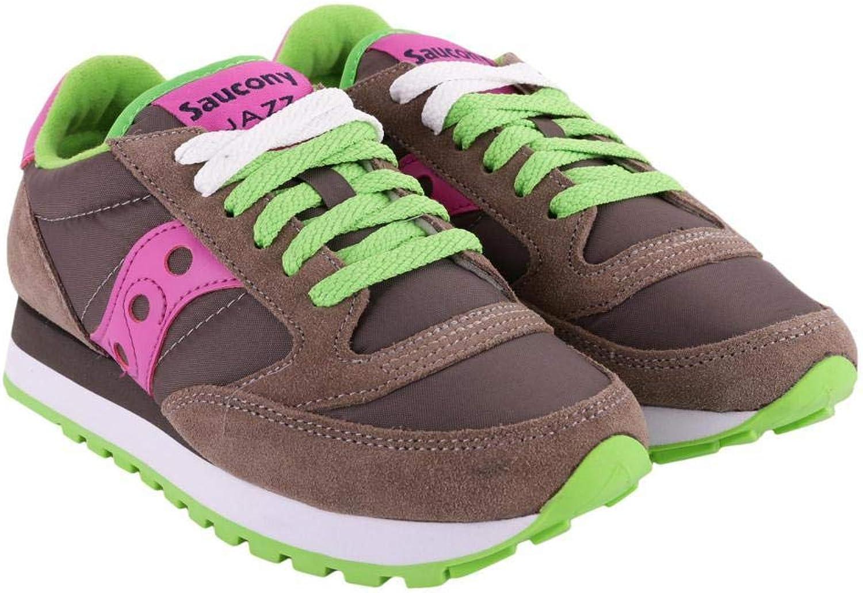 Saucony skor Jazz Original Original Original grå och lila, kvinnor.  skön