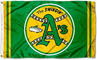 WinCraft Oakland Athletics Retro Vintage Logo Flag and Banner