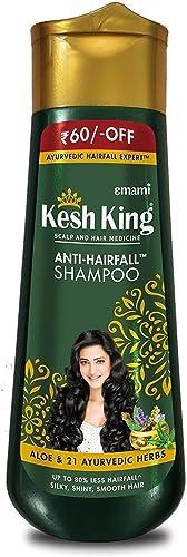 Kesh King Anti Hairfall Shampoo with aloe and 21 herbs, 340ml product image
