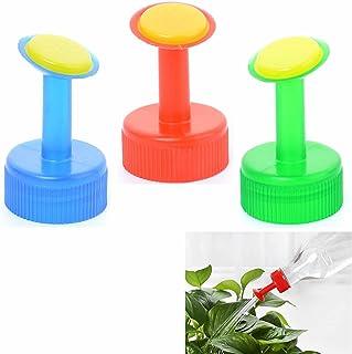 ORYOUGO 6 Pack Mini Hand Portable Watering Sprinkler,Waterers Bottle Spout Nozzle Cap Converter for Plant Flower Gardenin...