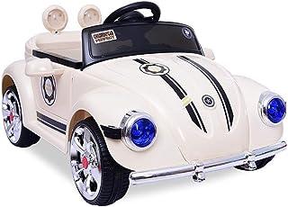 سيارات كهربائية ذات محرك مزدوج جميل من ZFDMDD 12V للأطفال بيتل مع الآباء والأمهات 2.4 جيجا هرتز، نموذج بابين للشمس، ومشغلا...