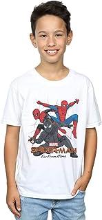 Marvel Niños Spider-Man Far from Home Multi Costume Camiseta