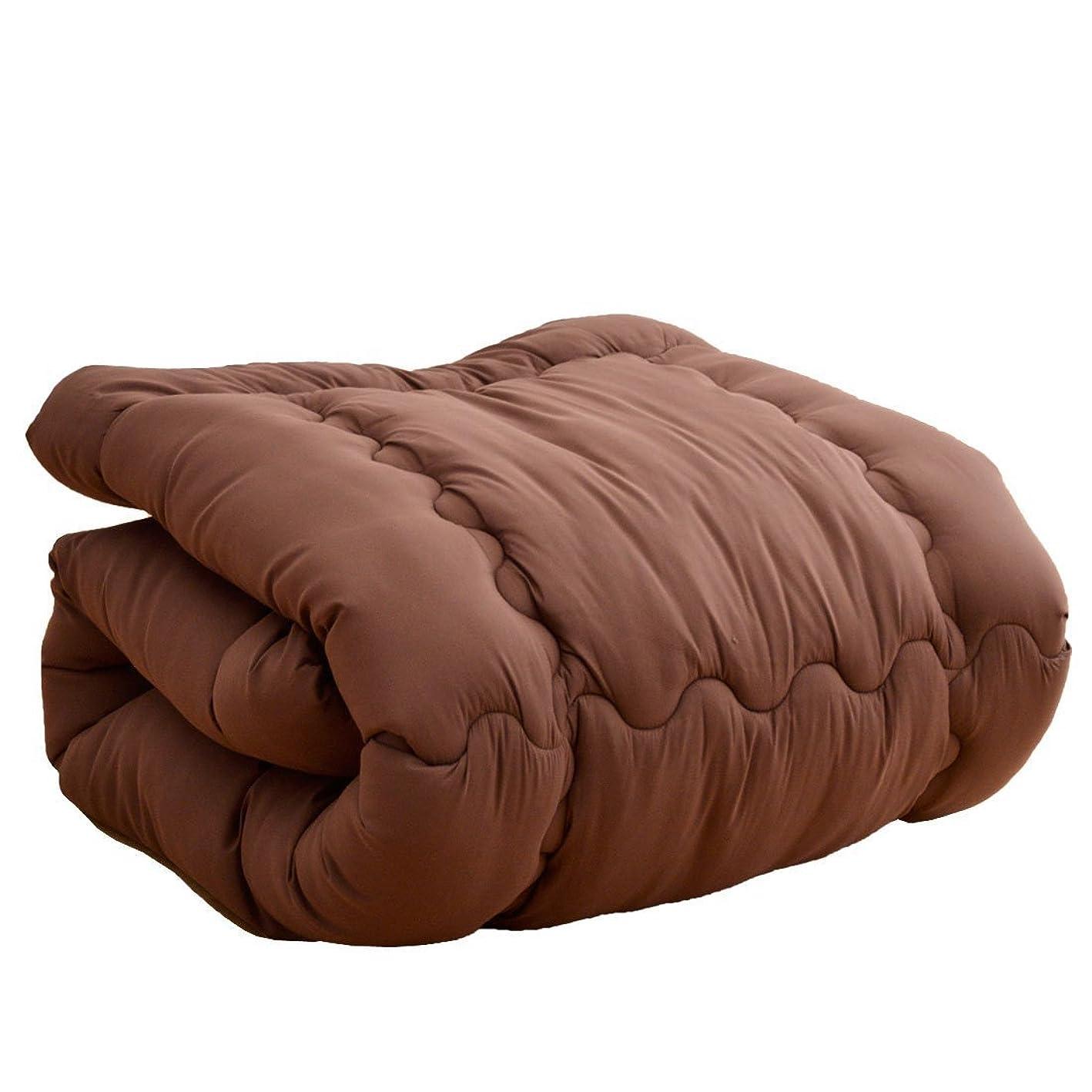 怖い症状富タンスのゲン 掛け布団 シンサレート ウルトラ150全面使用 東レft綿使用 洗える 日本製 セミダブル ブラウン 10419181 BR