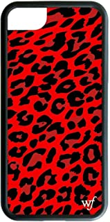 Wildflower Limited Edition iPhone Case for iPhone 6, 7, or 8 (Red Leopard)