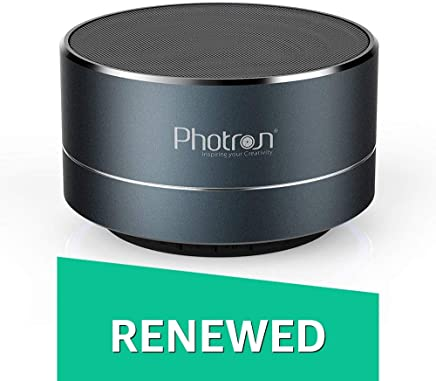 (Renewed) Photron P10 Wireless 3W Portable Bluetooth Speaker (Deep Cobalt)