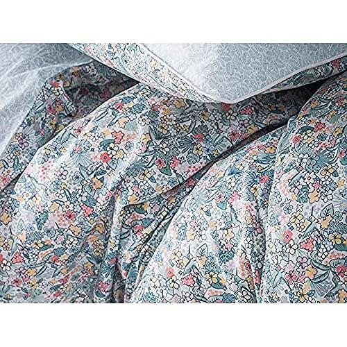 Essix Aloha Taie d'Oreiller, Coton, Multicolore, 65x65 cm