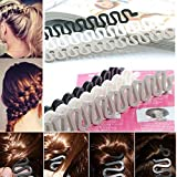 6PCS BeautyMood Fashion French Hair Styling Clip french braid tool Bun...