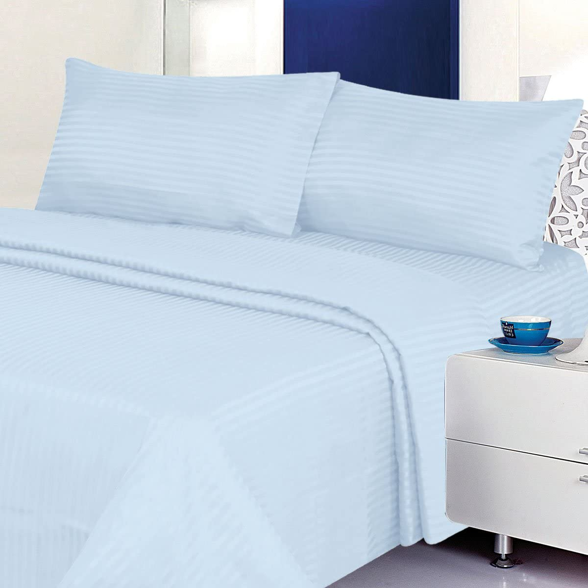 Deluxe Bed Sheet Set - 1800 2021 new Max 65% OFF Piece Pocket Cool Series 4 Deep