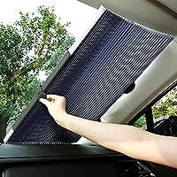 サンシェード 車 フロント 折り畳み式 車用サンシェード 二重ハニカム構造 サンシェード 車 遮光率99% UV反射 遮光 断熱 吸盤式 プライバシーを保護する 取付け簡単 各車類対応 プレゼント 父の日 母の日