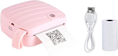 1 Pc Wireless Mobile Instant Photo Printer Thermal Printers USB Rechargeable Zero Ink Printing Technology