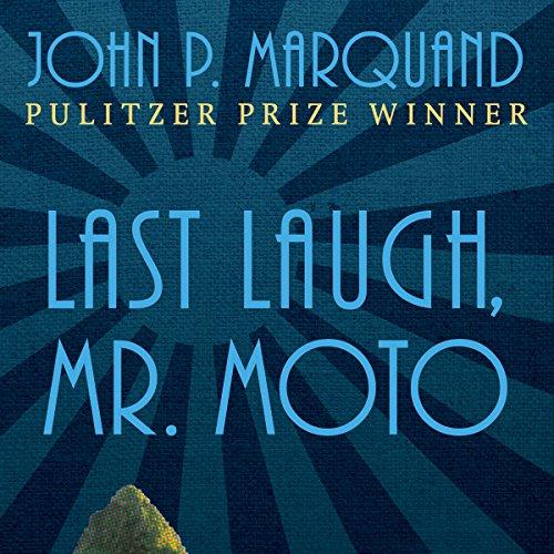 Last Laugh, Mr. Moto audiobook cover art
