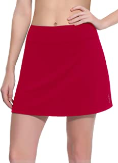 TAIBID Women's Active Athletic Skorts Workout Running Tennis Golf Skirt with Pocket, Size S - XL