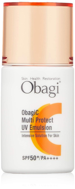 おもしろいスカイ効能あるObagi(オバジ) オバジC マルチプロテクト UV乳液 SPF50+ PA++++ 30mL