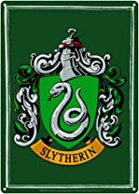 Pritties Accessories Genuine Harry Potter Slytherin House Crest Small A5 Steel Sign Tin Wall Door Plaque Hogwarts