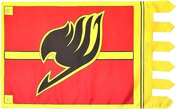 CoolChange Bandera Fairy Tail con símbolo del Gremio de los Magos, 100x 63mm