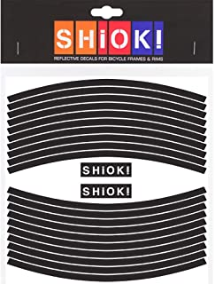 SHIOK - Straight Rim Reflective Sticker - Safety Decals for Bicycles