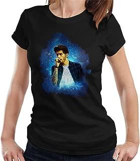 Zayn Malik of One Direction Murrayfield Stadium 2014 Women's T-Shirt