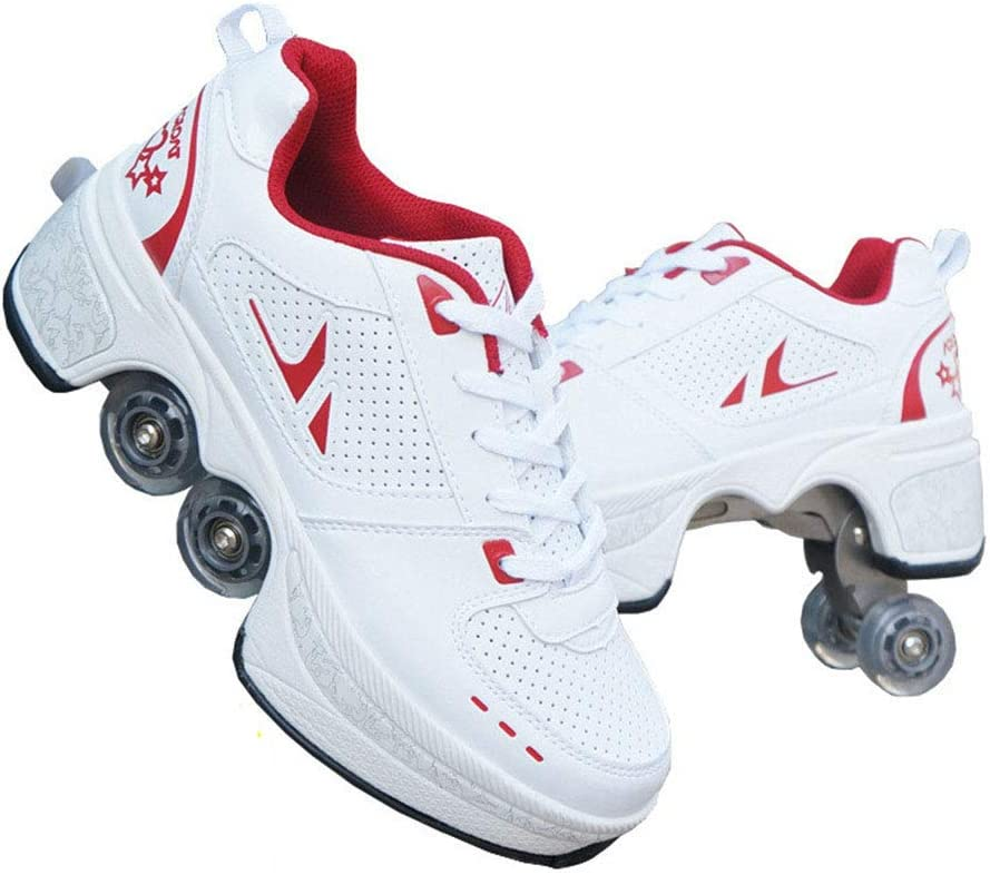 ASJUNQ Roller Skates for Large-scale sale Women Shoes Whe Men Free shipping anywhere in the nation Quad