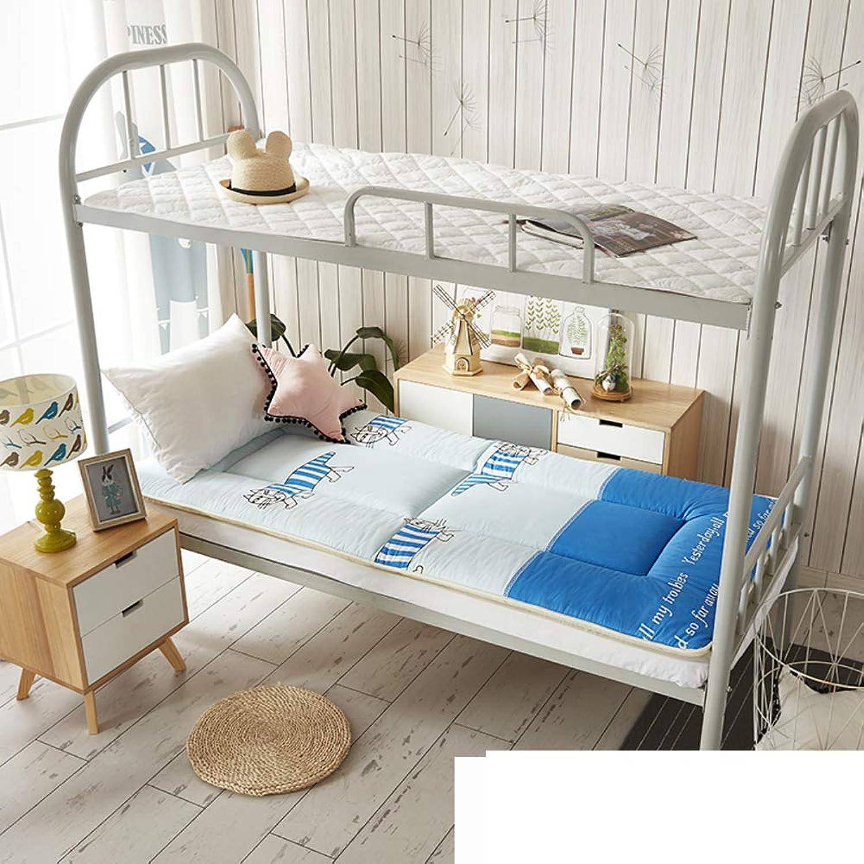 Student Dormitory Mattress,Single Bed 0.9m bunk Bed mats University Bedroom mats mat 1.2m Tatami Mattress-D 90x195cm(35x77inch)