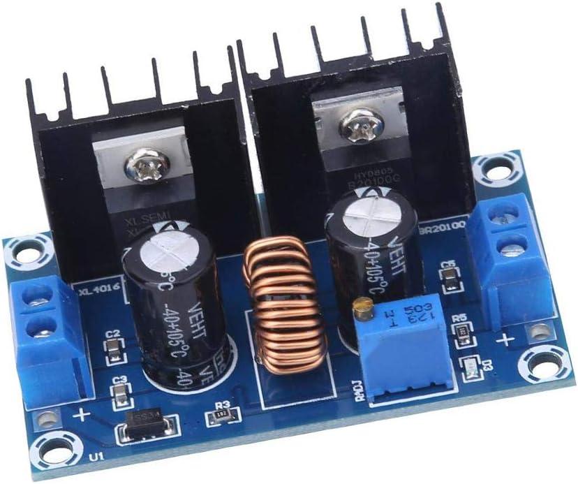 WSDMAVIS 1 Pcs DC-DC 4-38V to 1.25-36V 8A 200W Step Down Buck Converter Voltage Regulator Module DC XL4016 XL4016E1 Digital PWM Adjustable